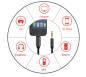 Preview: Lightning zu 3,5mm AUX Audio Kabel 3.5mm AUX Audio Kabel Adapter für Apply iPhone 11 7 8 Plus X XS