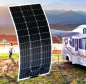 Preview: 100W Mono Semi Solarmodul flexibel Solar modul flexibel Solarpanel für Boot  ...