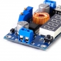 Mobile Preview: DC-DC Spannungsregler einstellbar, Abwärtswandler 36V / 5A mit LED DVM Voltmeter DC-DC Step down