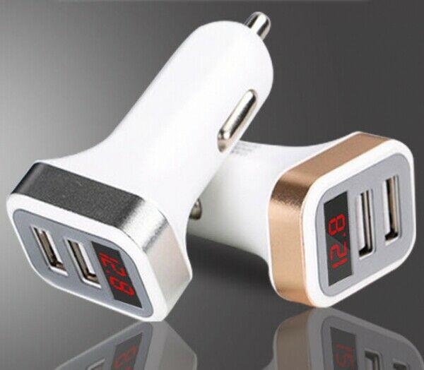 USB Ladegerät Dual Doppel für Zigarettenanzünder 2x USB 1.0A und 2.1A