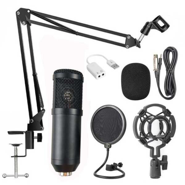 BM800 Professionelle Suspension Mikrofon Kit Studio Live Stream E7M4