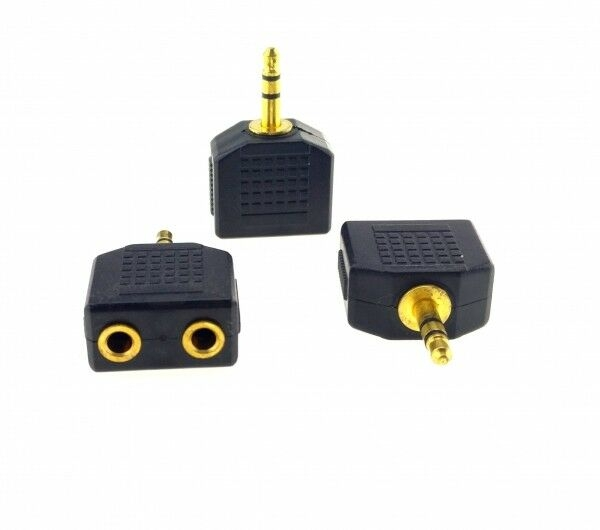 3,5mm Audio Y Splitter Verteiler für MP3 Verteiler für MP3 PC AUX Kabel Adapter